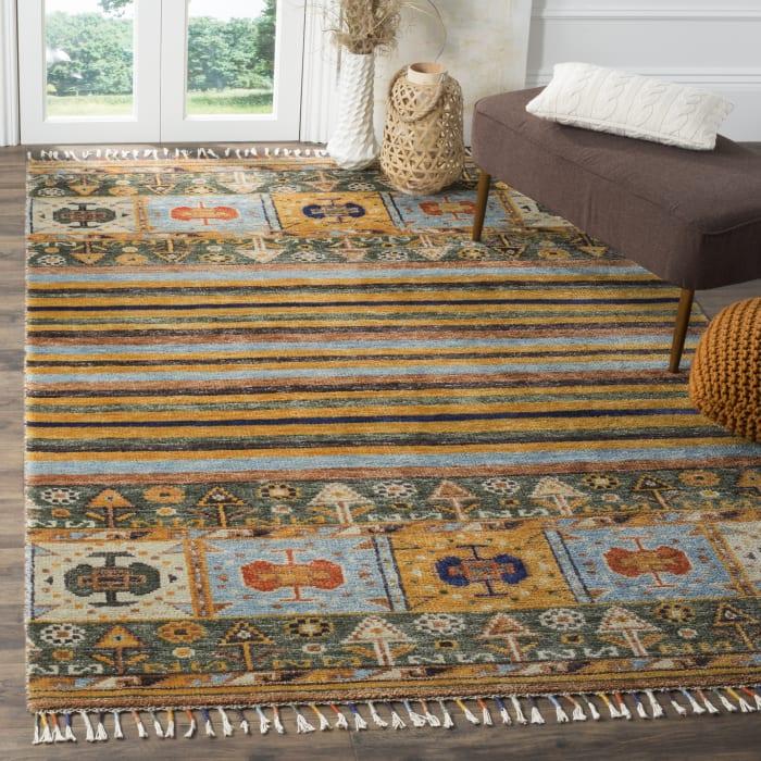 Lakota 786 6' X 9' Multicolored Wool Rug