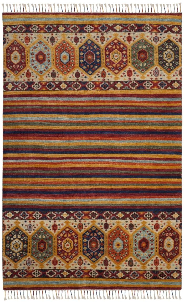 Lakota 789 6' X 9' Multicolored Wool Rug