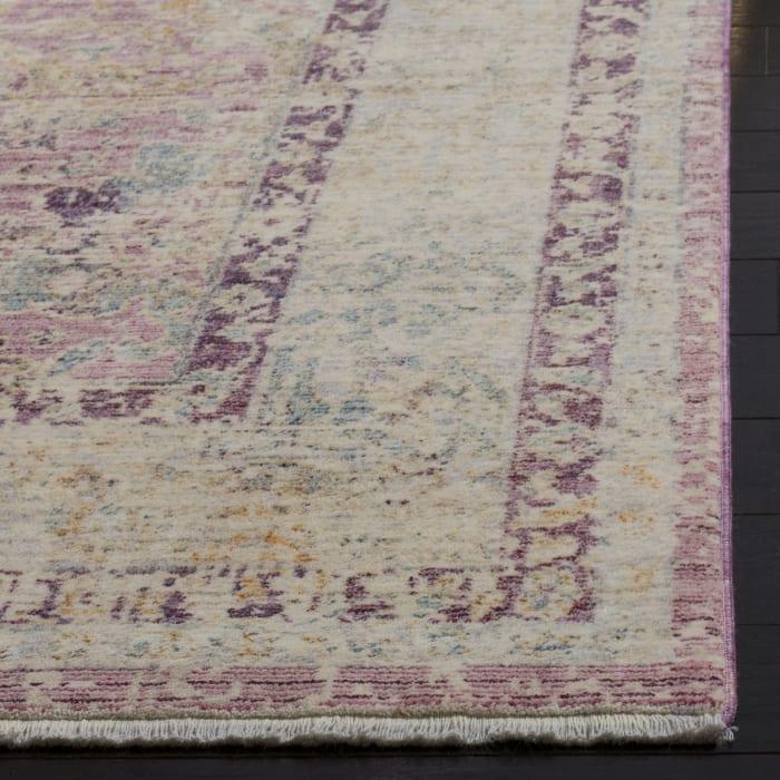 Marseilla 706 5' X 8' Pink Viscose Rug