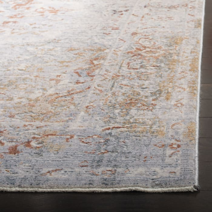 Montgomery 349 8' X 10' Gray Polyester Rug