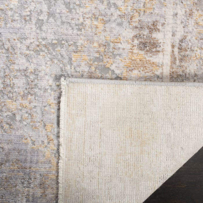 Montgomery 350 5' X 8' Gray Polyester Rug