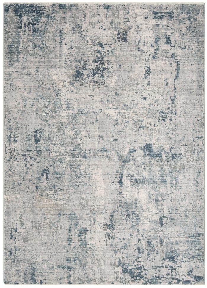 Montgomery 355 5' X 8' Gray Polyester Rug