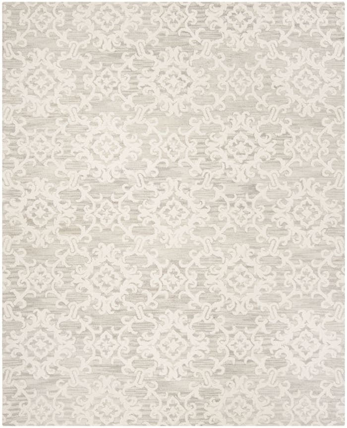 Morgan 104 8' X 10' Gray Wool Rug