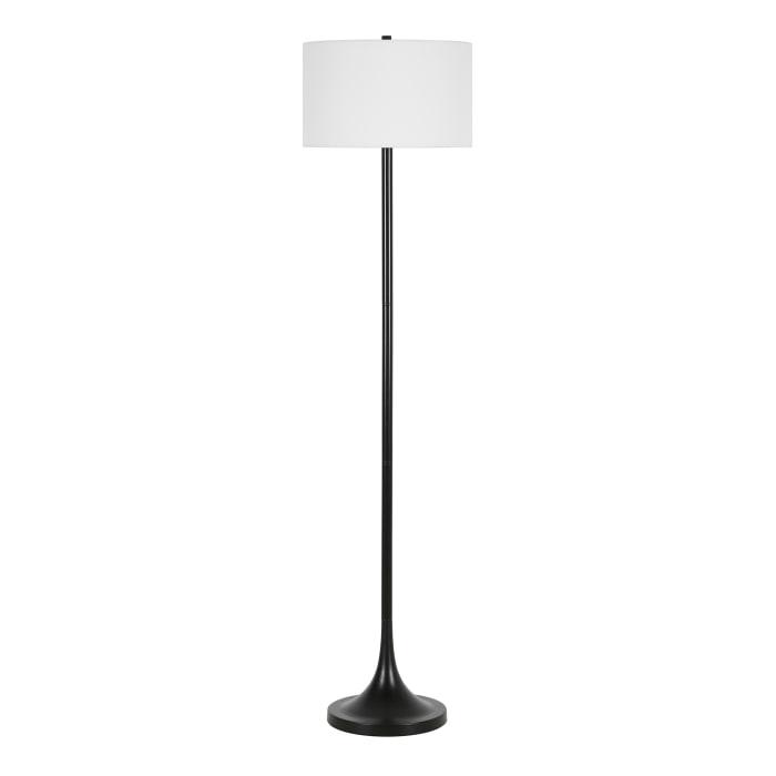 Floor Lamp in Blackened Bronze