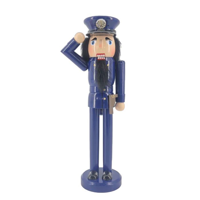 Policeman Christmas Nutcracker