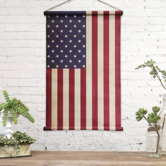 American Flag Wall Banner