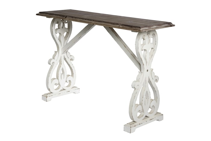 Console Table (Distressed Fir Console Table)