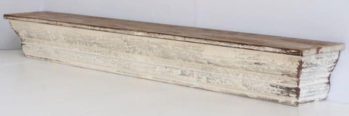 Distressed Ledge Shelf Small