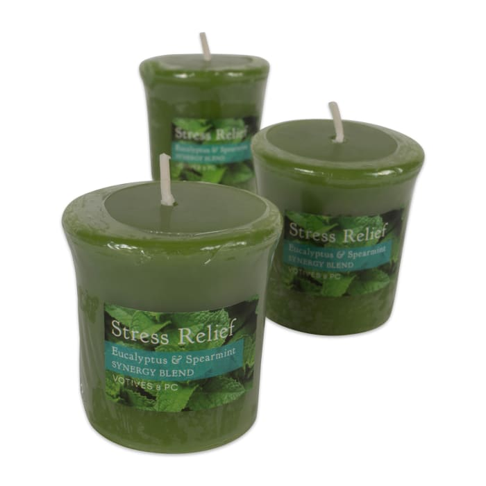 Eucalyptus Spearmint Synergy Blend Votives 8 Pc