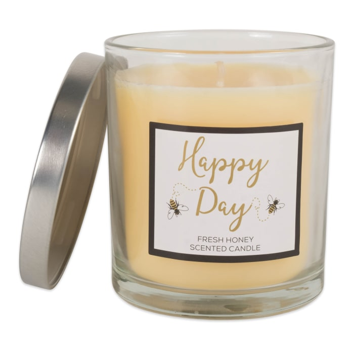 Happy Day -Honey  Single Wick Candle (Set of 2)