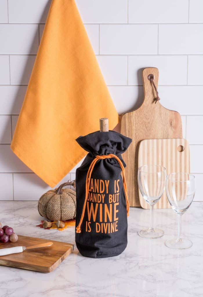 Assorted All Hallows Eve Wine Bags (Set of 2)