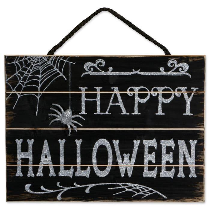 Happy Halloween Hanging Sign