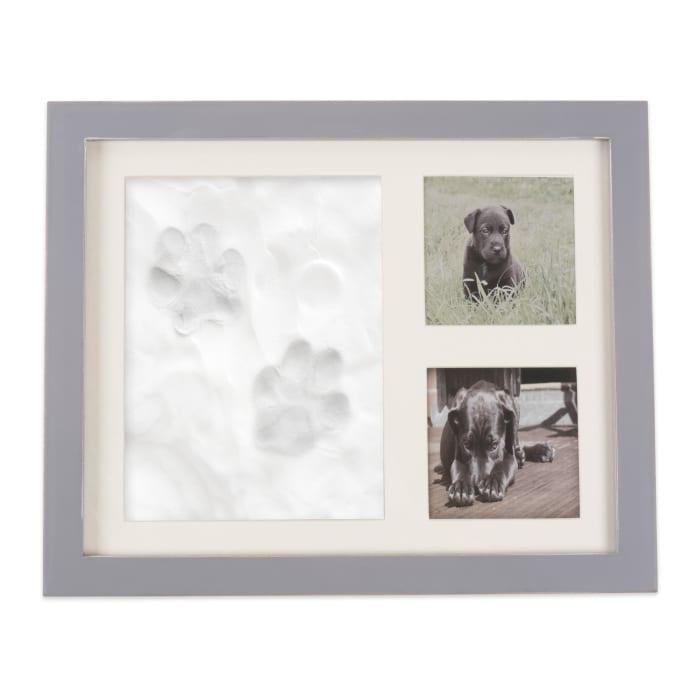 Pet Keepsake Frame Distressed Grey