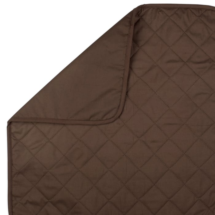 Reversible Loveseat Cover Chocolate