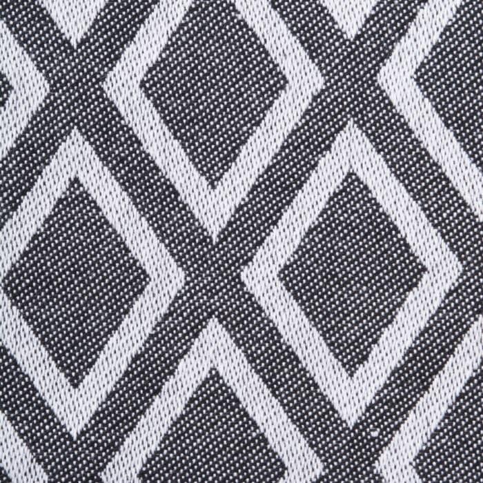 Black & White Diamond Napkin (Set of 6)