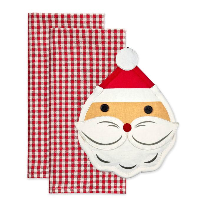 Santa Potholder Gift Set