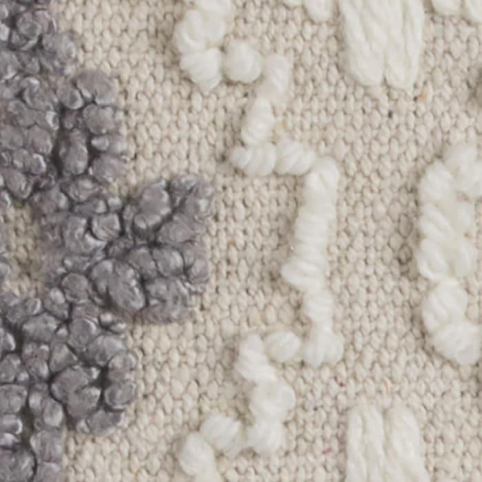 Diamond Textural Decorative Filled Pillow