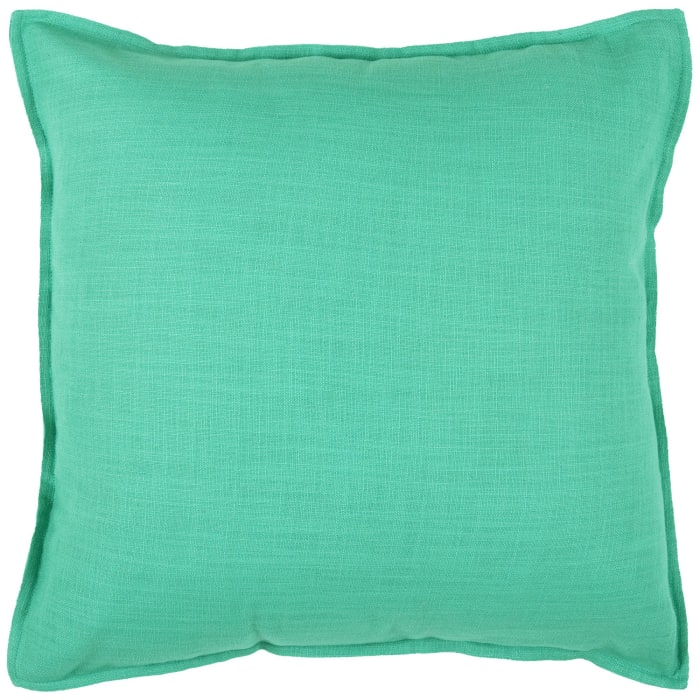 Solid Flanged Decorative Filled Pillow