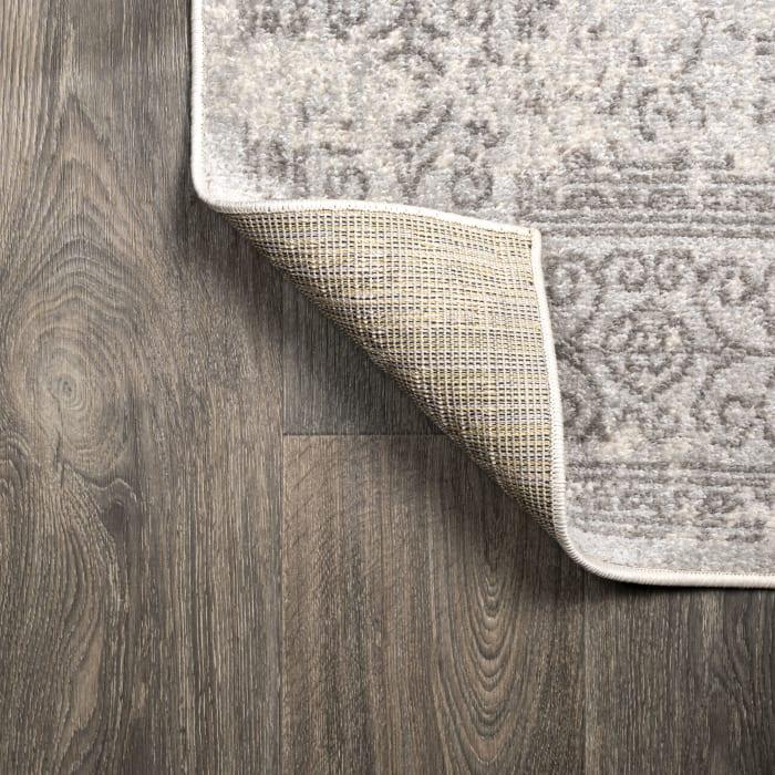 Ferro Filigree Modern Gray Gray/Dark Gray Area Rug