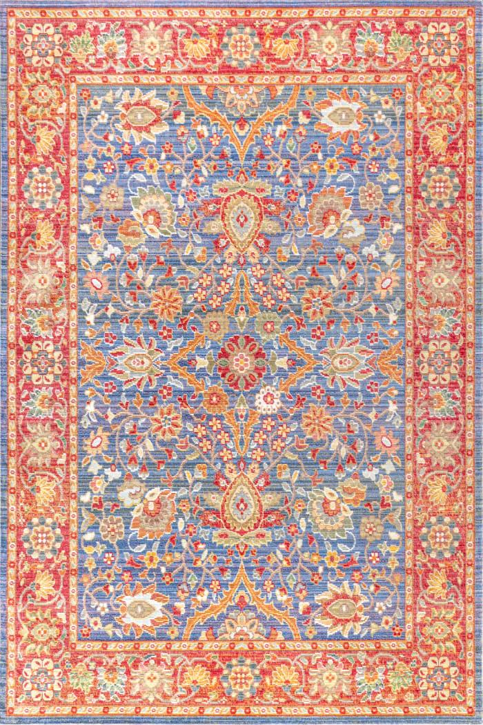 Persian Plum/Terracotta Area Rug