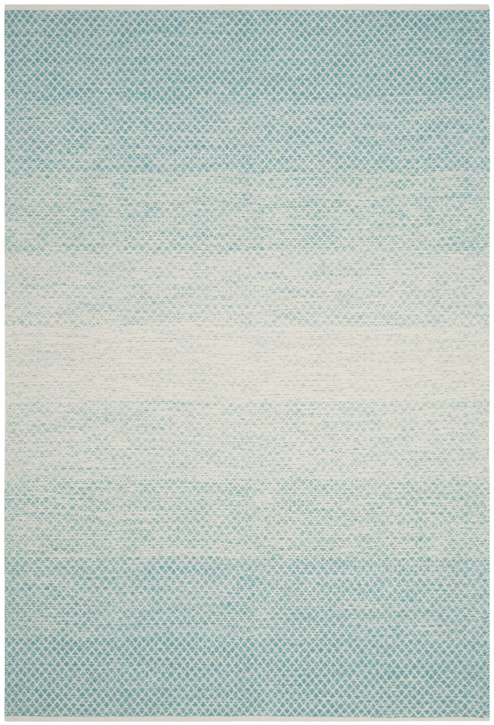 Altman 601 5' X 8' Turquoise Cotton Rug