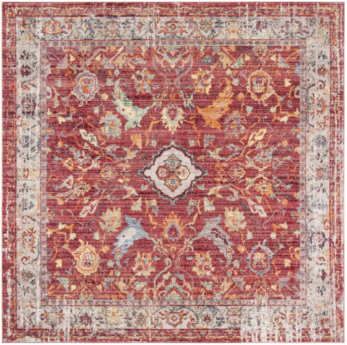 Beckett 361 7' X 7' Square Pink Rug