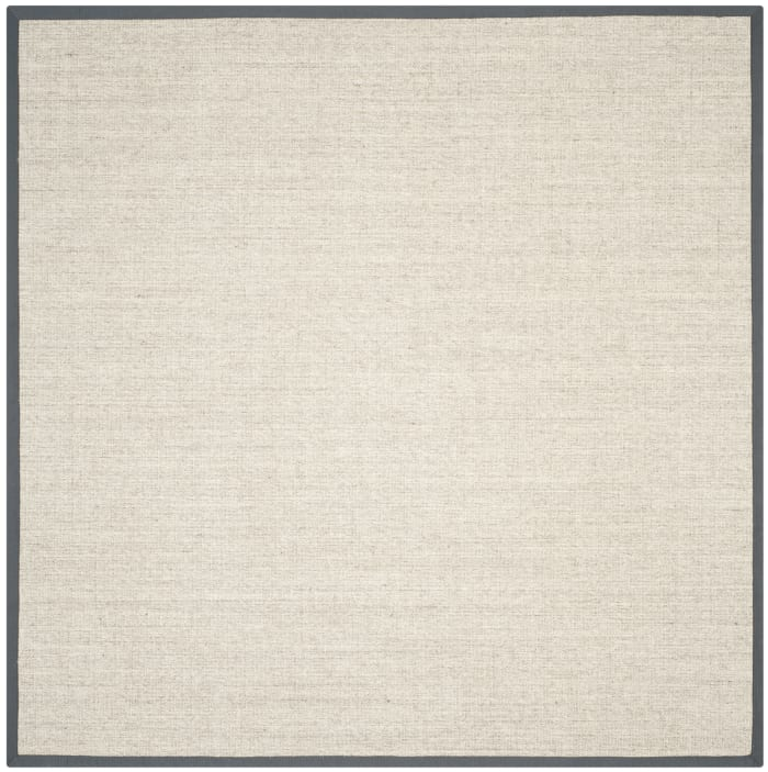 Danford 441 6' X 6' Square Gray Jute Rug