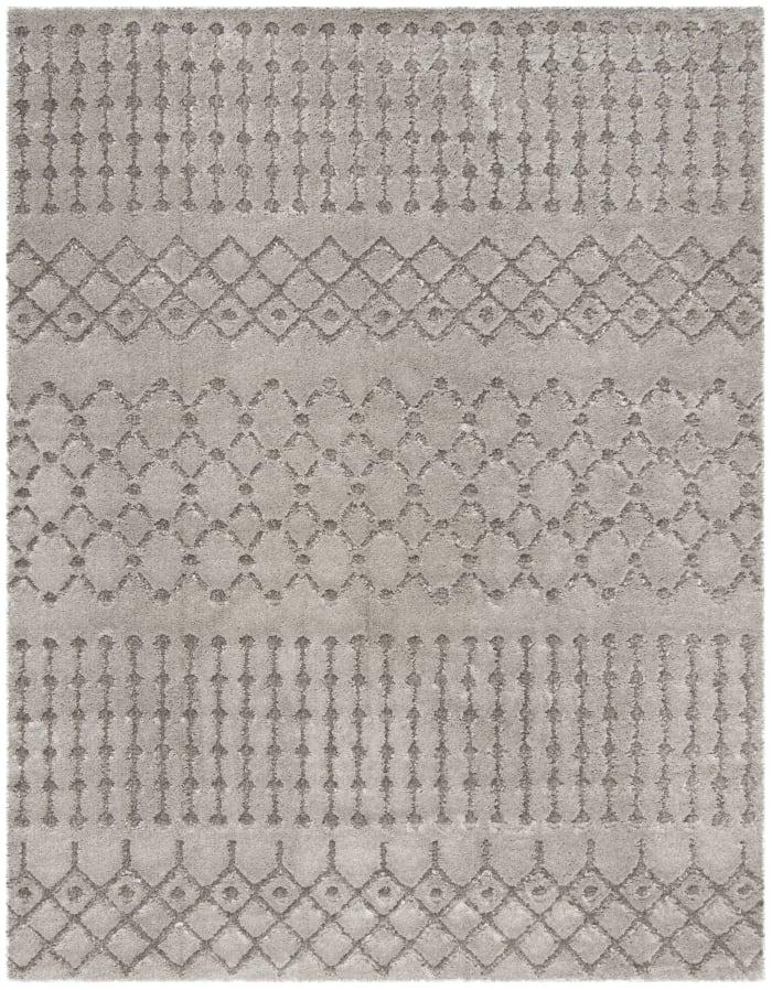 Dylan 509 8' X 10' Gray Polyester Rug