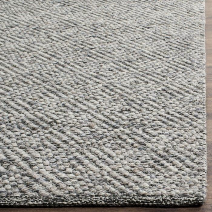 Chipley 503 6' X 6' Square Brown Wool Rug