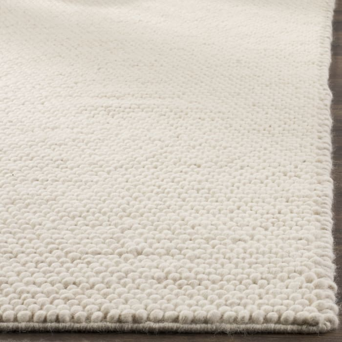 Chipley 620 6' X 6' Square Ivory Wool Rug