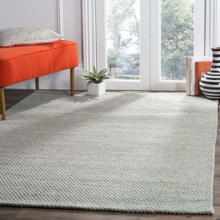 Chipley 801 6' X 9' Gray Wool Rug