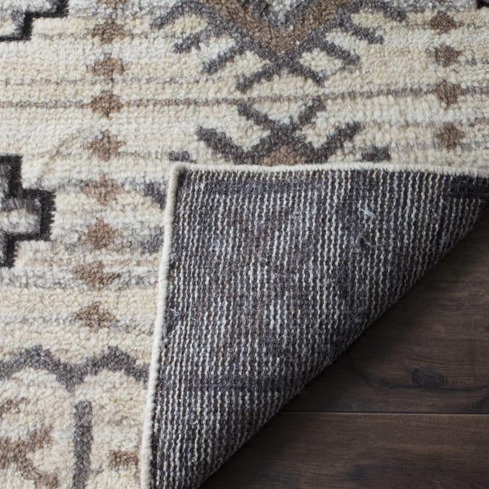 Cody 317 8' X 10' Brown Wool Rug