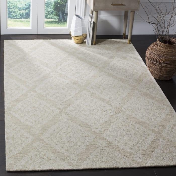 Essence 210 5' X 8' Tan Wool Rug
