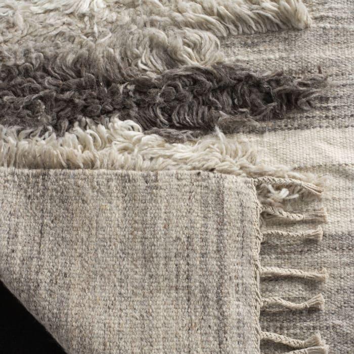Gypsy 120 9' X 12' Ivory Wool Rug