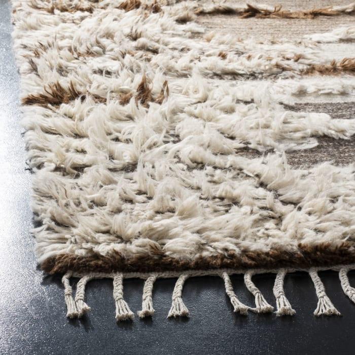 Gypsy 225 4' X 6' Gray Wool Rug