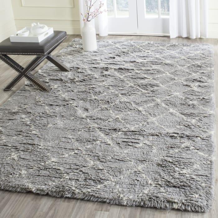 Gypsy 404 9' X 12' Gray Wool Rug
