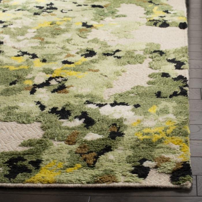 Gypsy 804 8' X 10' Green Wool Rug