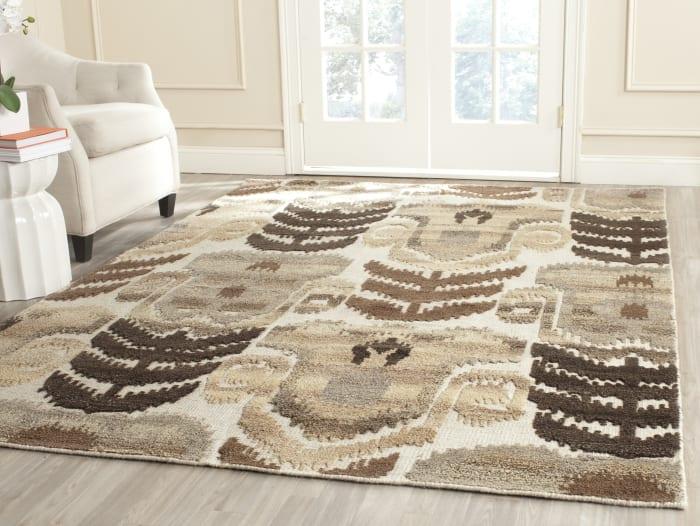 Gypsy 815 6' X 9' Natural Wool Rug