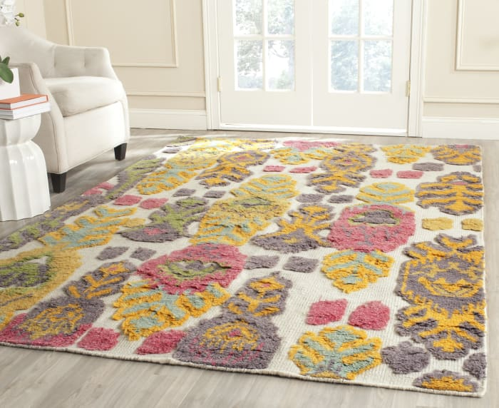Gypsy 818 6' X 9' Multi Wool Rug