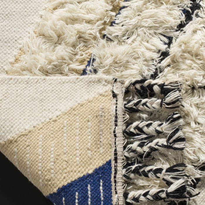 Gypsy 903 8' X 10' Black Wool Rug