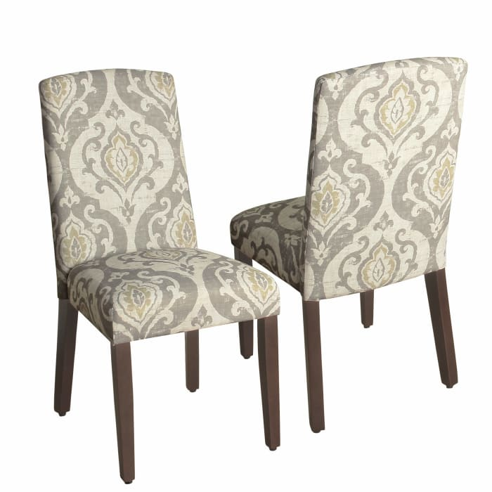 Suri Curved Top Parson Dining Chair Set of 2