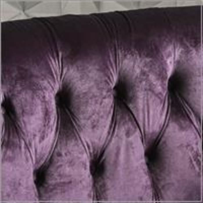 Milani Purple Blackberry Loveseat