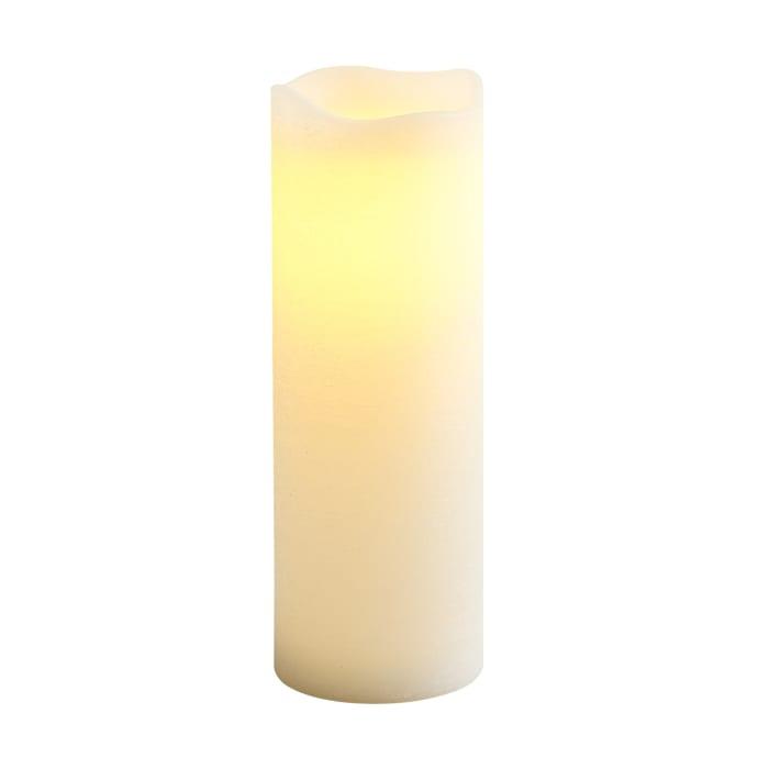 Deco Wick™ LED 4x12 Ivory Large Pillar Candle