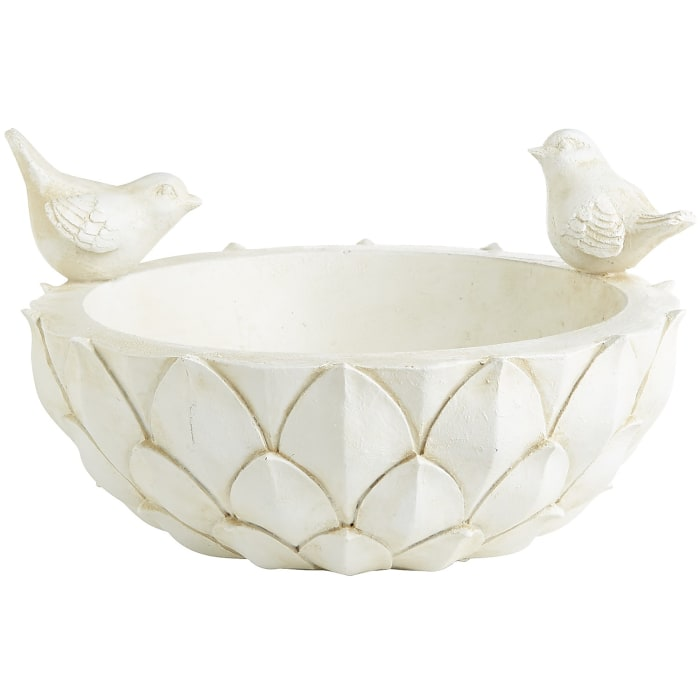 Artichoke Bird Bath