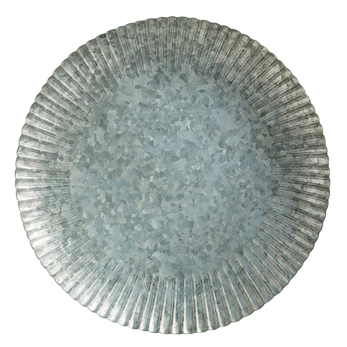 Galvanized Windmill Iron Charger Plate