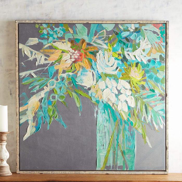 Fancy Flowers Wall Art