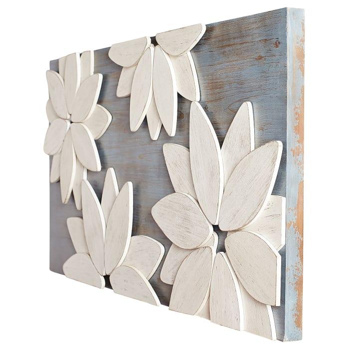 Mod Flowers Wall Decor