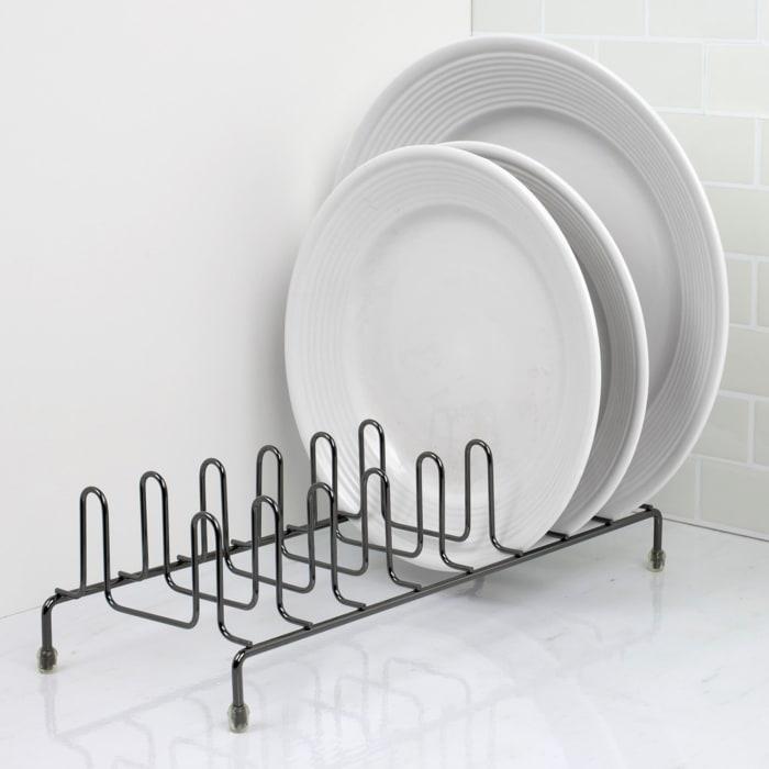 Black Onyx Plate Rack