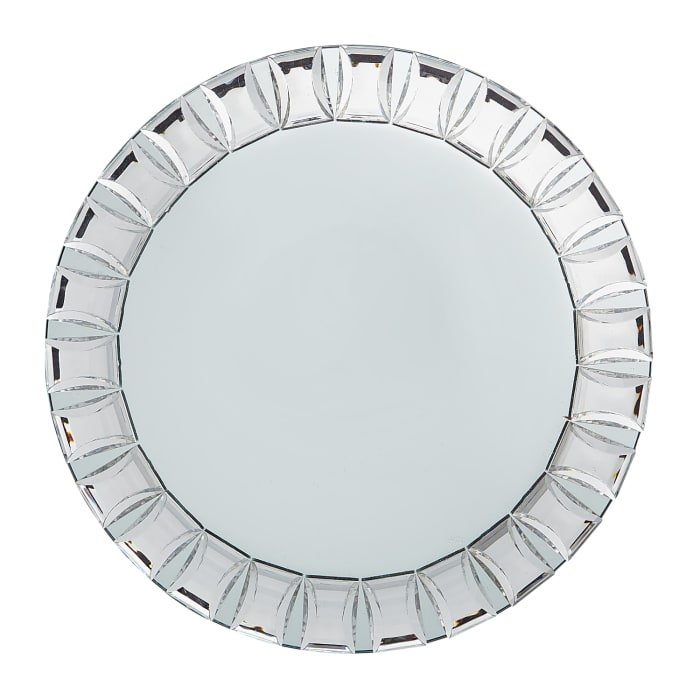 Luxe Mirrored Charger Plate