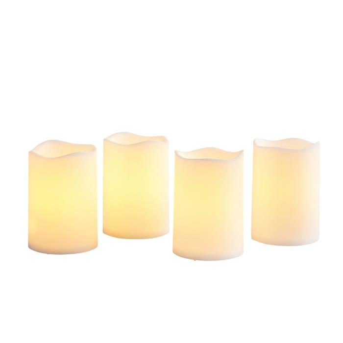 Deco Wick™ LED Outdoor Votive Candle Set